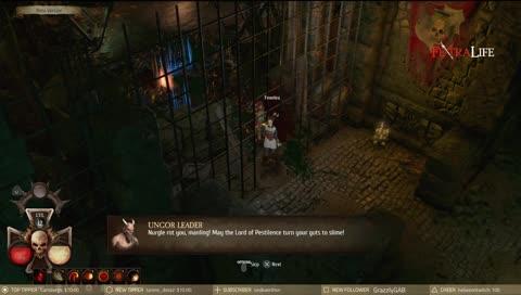 Cas in dungeon