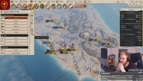 German streamer discovers mechanic in Imperator Rome