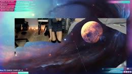 galaxy moon
