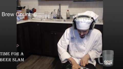 drunk streamer slices his finger off during cooking stream