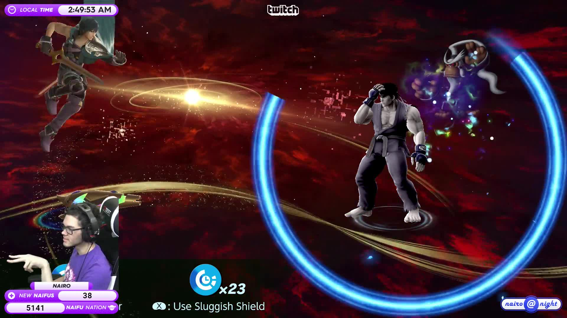 NairoMK - Nairo no look spirit board shot - Twitch