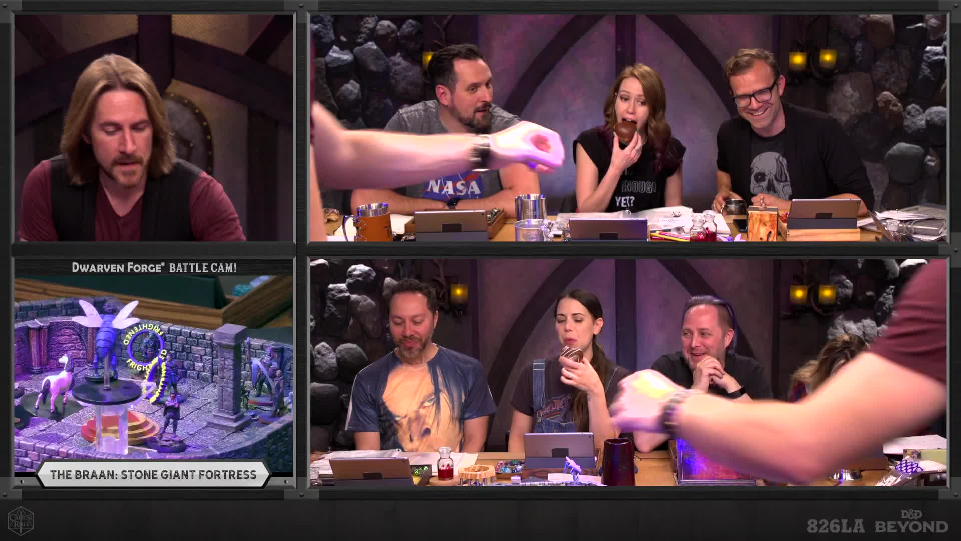 CriticalRole - Dnd   a v serious game - Twitch