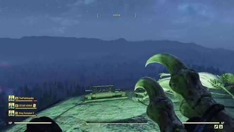 Falling out in fallout