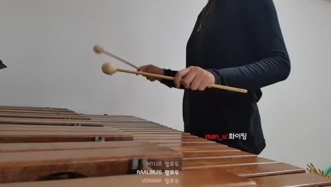 마림바로 슈퍼마리오 연주하기!!