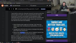 Izidore is addicted to Twitch