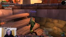 Guzu world first lvl 10