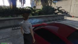Kiki/Brenda play bumper cars.