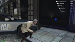 Edna doesn't help.... Gets police run over!