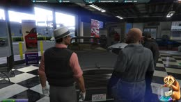 Salesman Finessing A Pimp