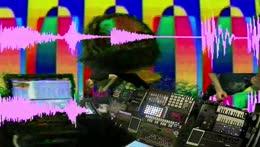 [Audio] TredLok jams on the optical synth thru the glitch mic [Video] Dr M on the Vidiot & KPE