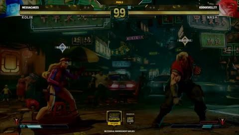 This is how casual viewers describe a Street Fighter match.