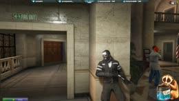OTT Pisses himself as Hostage in bank heist