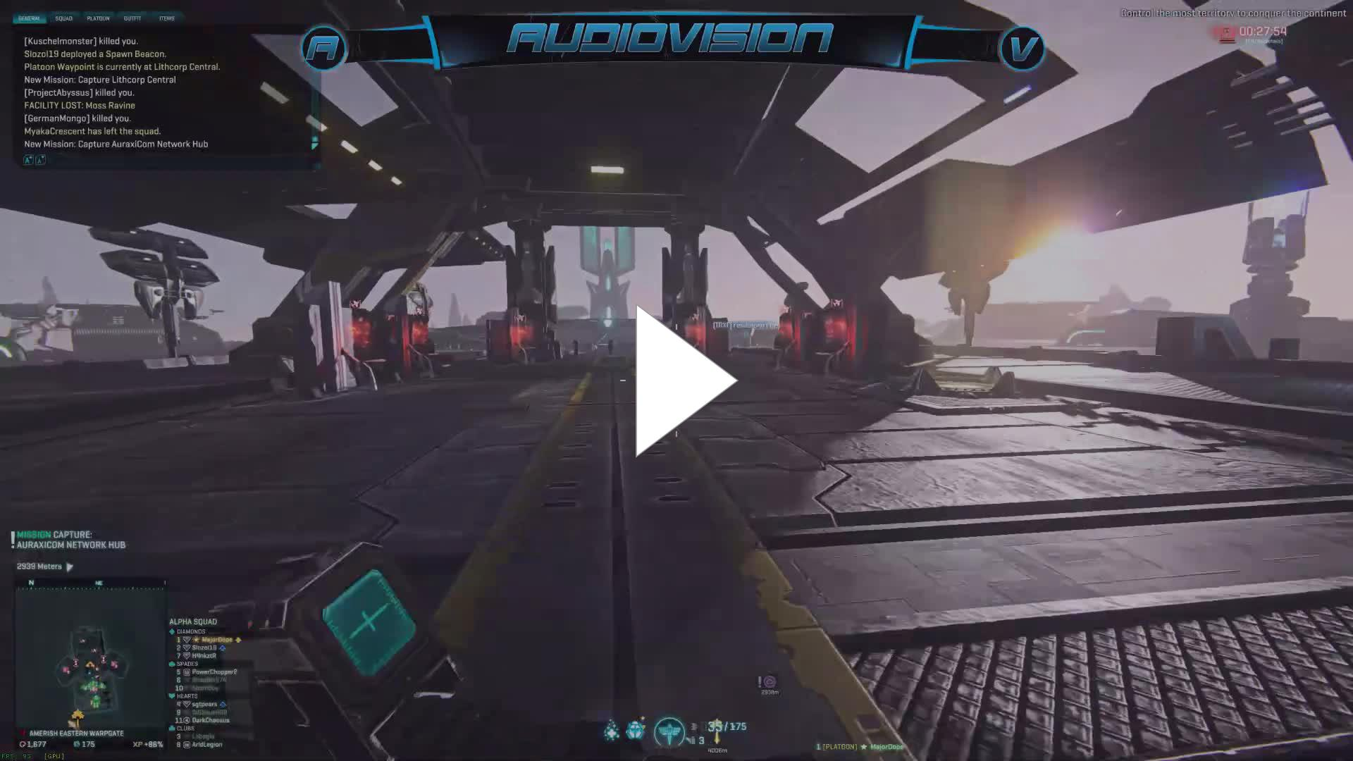 AudioVision - major dope - Twitch