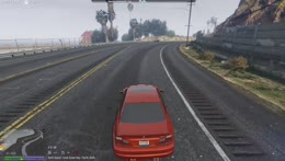 Nino's first crash with the M3
