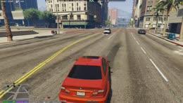 Nino pulls over Officer McClane pt 1