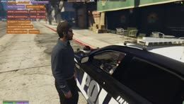 Nino pulls over Officer McClane pt 2