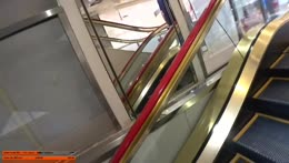 Who the hell designs an escalator like that.