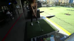 Poki and Fed are so good at golf