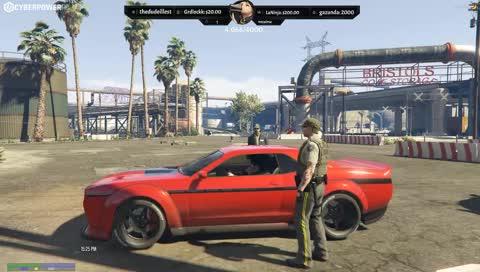 Cops called Tony's car a POS