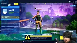 Stream is saved from Fortnite