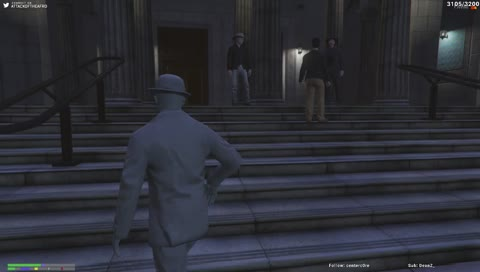 David robs a judge