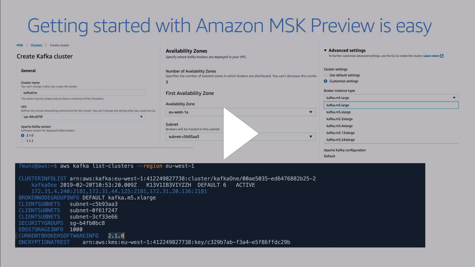 AWS - msk pricing - Twitch