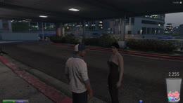 Saab watches Brenda park