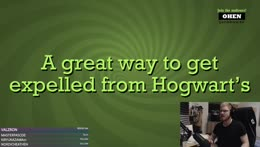A great way to get expelled from Hogwart's