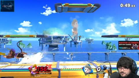 ZeRo Popping Off with Diddy Kong