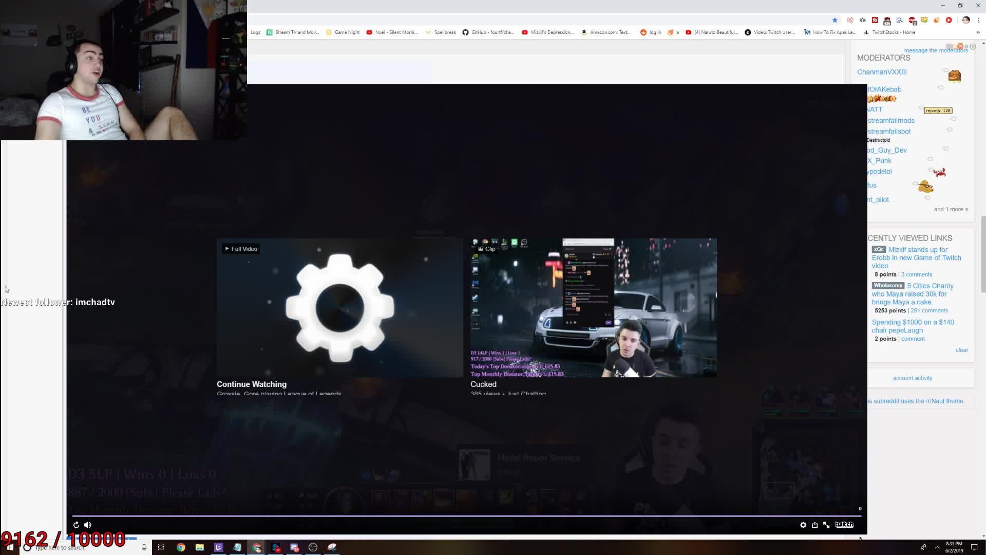 miz calls out gross gore on DNA video - Twitch