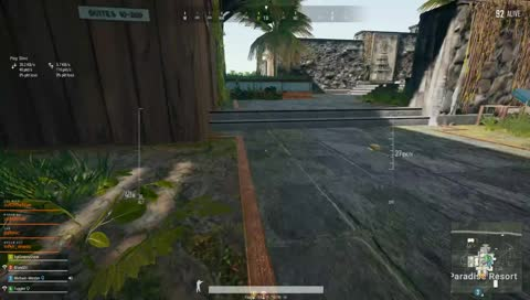 Fugglet squad wipe with 30 bullets