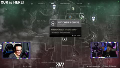 Xur Location 6/7