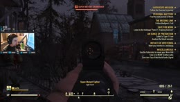 Fallout 76 muzzle flash