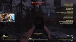 Fallout 76 muzzle flash