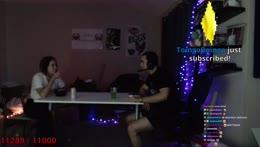 Mizkif tells Maya hes Rank 1 in League