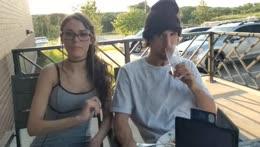 Mitch jones on a date