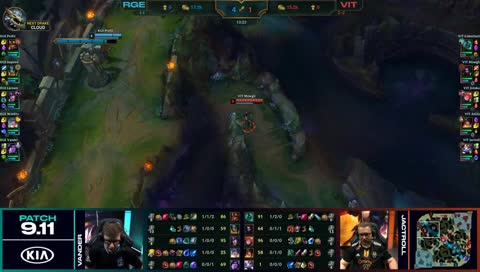 Vander with the clutch Taric R