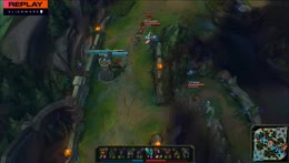 Sona teleports with taric ult