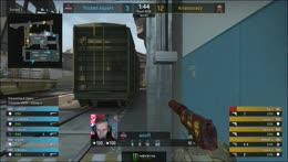 TaZ taps down three in the second pistol round
