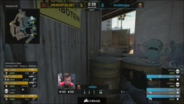 rallen steals the round with a 3k