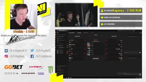 s1mple - top clips of the month · TwitchTracker