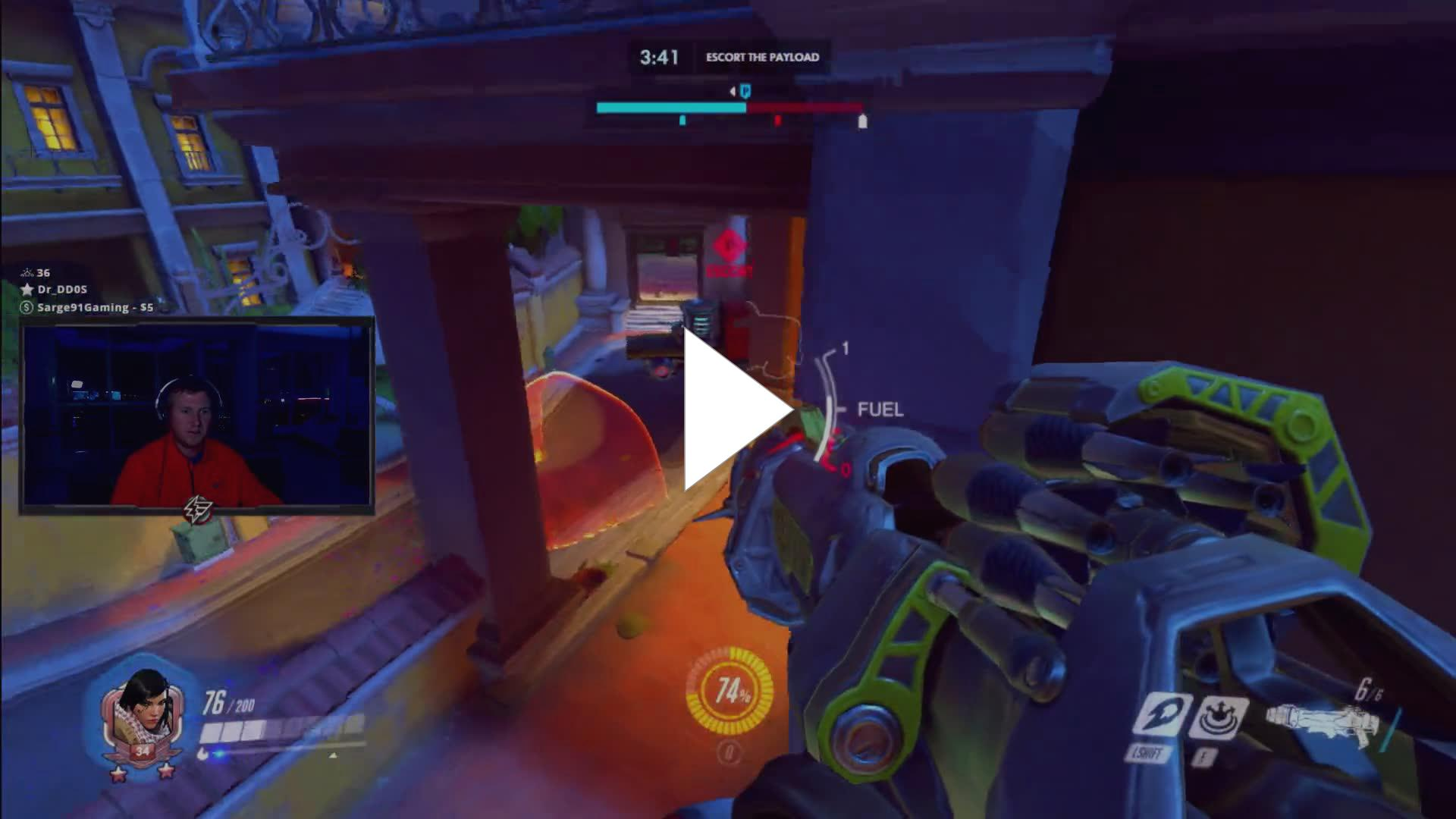 FATAL1TY - POTG as Pharah quake style - Twitch