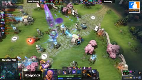 dota2 mara cup amazing finish