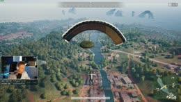 Landing on airdrop