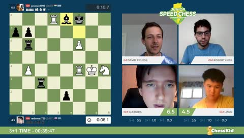 Junior Speed Chess Championship Highlight: WHAT'S HAPPENING!?!?!