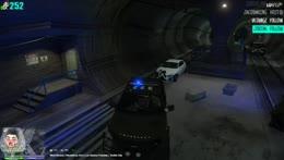 Wall ride Cop POV