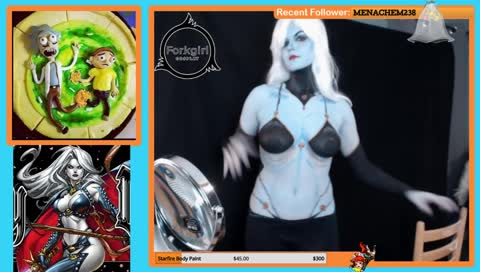Fork pose and dance