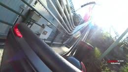 Esfand Riding A Roller coaster