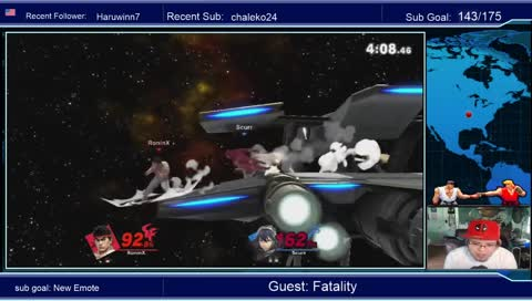 Ronin with the comeback double focus mixups