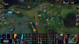 Great utilisation of the Ezreal Ultimate